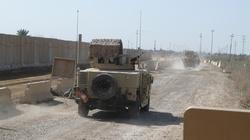 Irak. Zaatakowano amerykańską bazę, byli w niej żołnierze - miniaturka