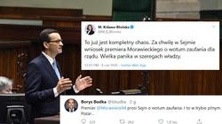 Opozycja w szachu, nie wie co robić po wystąpieniu premiera - miniaturka