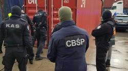 Cela Plus: CBŚP udaremnia przemyt 10 mln papierosów. Były ukryte w kontenerze z koszulkami - miniaturka