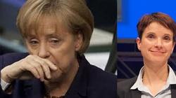 Niemcy dla Niemców, a dla Merkel żółta kartka - miniaturka