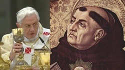 Mistrz teologii o swoim mistrzu, czyli Benedykt o św. Tomaszu - miniaturka