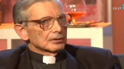 Zmarł wybitny astrofizyk i jezuita, o. Carreira Verez - miniaturka