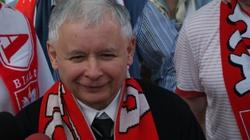 Jarosław Kaczyński do piłkarzy: Grajcie ostro, do zwycięstwa!!! - miniaturka