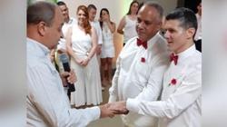 Skandal! Ksiądz pobłogosławił parę homoseksualistów - miniaturka