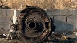 Irańczycy: Ukraiński samolot płonął w powietrzu - miniaturka