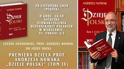 Premiera ,,Dziejów Polski''. Zapraszamy na spotkanie z Autorem - miniaturka