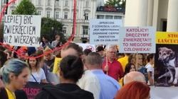 SKANDALICZNE hasła na demonstracji ekologów w Warszawie!  - miniaturka