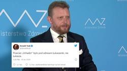 Tusk szydzi z prof. Szumowskiego. Odpowiada mu poseł Bortniczuk - miniaturka