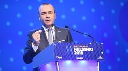 Weber: UE nie powinna finansować wrogich jej partii - miniaturka