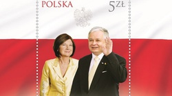Znakomity pomysł Poczty Polskiej! Znaczek upamiętniający 10 IV 2010 - miniaturka