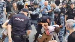 Ostra manifestacja w Moskwie. Putin wulgarnie obrażany - miniaturka