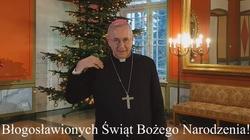 Świąteczne życzenia od abp. Gądeckiego w języku migowym [FILM] - miniaturka