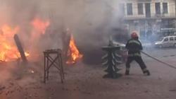 Eksplozja na jarmarku bożonarodzeniowym we Lwowie - miniaturka