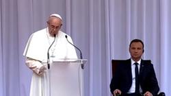 Papież: Nasze życie jest święte i zmierza do śmierci  - miniaturka