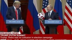 W piłce od Putina były PODSŁUCHY? Secret Service sprawdza podarunek dla Trumpa - miniaturka