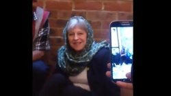 Z kim trzyma Theresa May? SZOKUJĄCE nagranie!!! - miniaturka