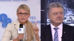 Ukrainę weźmie Tymoszenko? Poroszenko ma marne szanse - miniaturka