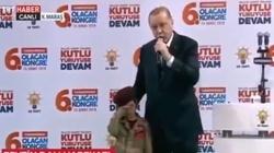 Erdogan do dziewczynki: Gdy zostaniesz męczennicą, uhonorujemy cię - miniaturka