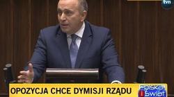 Totalni znów zaczynają HUCPĘ! Sejm debatuje nad wnioskiem o wotum nieufności dla rządu - miniaturka