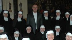 Niespodziewana wizyta prezydenta u klauzurowych sióstr klarysek - miniaturka