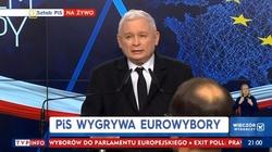 PiS zwycięża w wyborach do Parlamentu Europejskiego - miniaturka