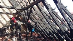 Spłonął dach gdańskiego kościoła śś. Piotra i Pawła - miniaturka