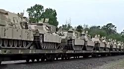 Brygada Pancerna USA jedzie do Polski. 4 tysiące żołnierzy i ponad 1000 pojazdów  [FILM] - miniaturka