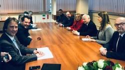 Trwa spotkanie Kaczyńskiego z Salvinim - miniaturka
