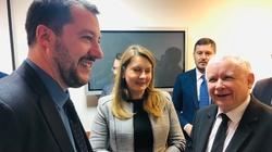 'Europa przyszłości'. Kulisy spotkania Kaczyński-Salvini - miniaturka