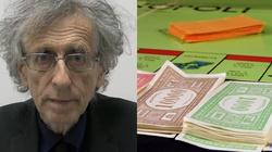 [Wideo] Hit! Znany antyszczepionkowiec przyjął łapówkę w pieniądzach z Monopoly - miniaturka