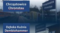 Tu jest Polska. Poseł Kowalski chce usunięcia niemieckich nazw stacji PKP - miniaturka