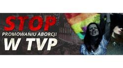 Aborcyjny skandal w TVP!!! Kurski przekroczył granicę - PROTESTUJEMY - miniaturka