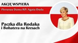 Pierwsza Dama Agata Duda wspiera akcję pomocy Rodakom na Litwie - miniaturka