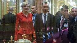 Andrzej Duda staje w obronie swojej żony przeciwko hejterom - miniaturka