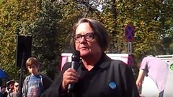 Agnieszka Holland znów na pierwszej linii frontu - znów walczy w ,,dusznej Polsce''! - miniaturka