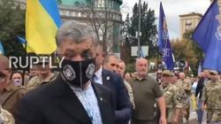[Wideo] Były prezydent Ukrainy Poroszenko zaatakowany w Kijowie - miniaturka
