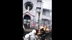 Przerażające sceny z Chile! Lewicowcy dewastują Kościół! - miniaturka