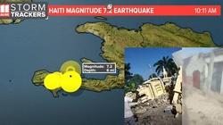 [Wideo] Haiti i Alaska nawiedzone przez potężne trzęsienia. Są ofiary śmiertelne - miniaturka