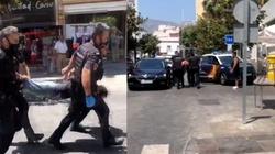 [Wideo] Hiszpania. Taranował samochodem klientów ogródków restauracyjnych. Są ranni - miniaturka