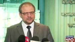 Stępkowski: kontynuujemy obrady bez zmiany regulaminu - miniaturka