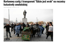 Smoleńscy szydercy jeszcze żyją. Kto ich opłaca? - miniaturka
