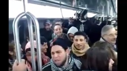 Francja 2010: Pokojowa demonstracja wyznawców islamu - miniaturka
