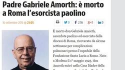 Zmarł ojciec Gabriele Amorth, słynny egzorcysta - miniaturka