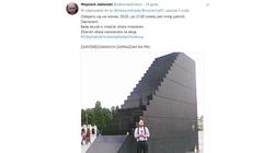 OHYDA! Politolog zachęca do ''odlania się'' na pomnik ofiar katastrofy smoleńskiej - miniaturka
