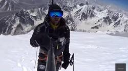 Polak dokonał niemożliwego!!! Andrzej Bargiel- pierwszy człowiek, który zjechał na nartach z K2 - miniaturka