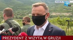 Kreml niezadowolony z przemówienia prezydenta Dudy w Gruzji - miniaturka
