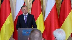 Powodzie w Niemczech. Prezydent Duda pisze do Steinmeiera - miniaturka