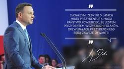 Andrzej Duda: Ustąpię z urzędu, jeśli... - miniaturka