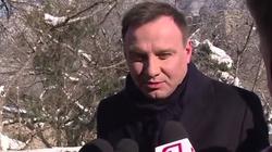 Prezydent Andrzej Duda: PO chciała dokonać politycznego skoku na Trybunał  - miniaturka