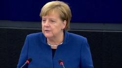 'Musimy się uważnie traktować'. Merkel o zablokowaniu Timmermansa - miniaturka